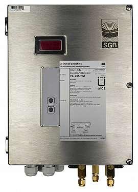 Leak Detector VL 255 PM, 100-240VAC|24VDC, ss-box, CF8/6