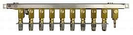 Manifold 9 tanks, stackable, pump unit VIMS