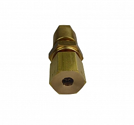 Insect Protection f. Exhaust Termination KV 6, Brass, 6 mm Compression Ferrule