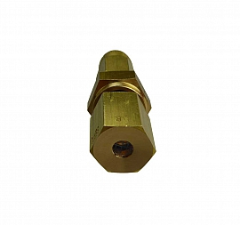 Insect protection f. exhaust, brass, CF8/6