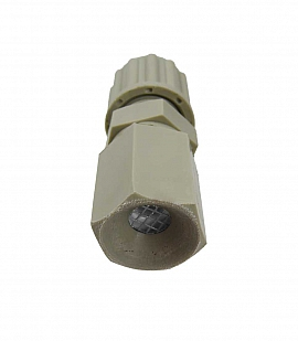 Insect protection f. exhaust, PP, PP8/6