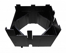 Board Holder, Polystyrene, black