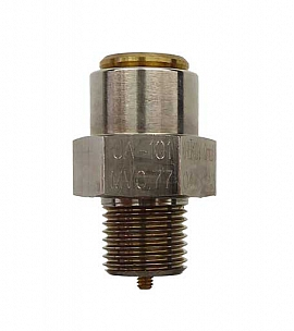Overpressure Valve, Brass, NBR, G1/8' 770 mbar Open. Pressure (DL 590)
