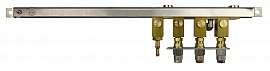 Manifold 3 pipes, stackable, pump unit VIMS