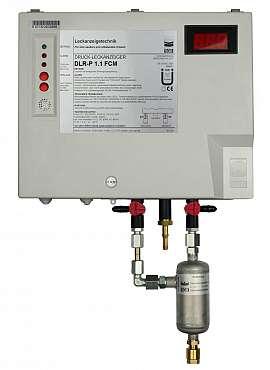 Leak Detector DLR-P 1.1 FCM, pul-d, 100-240VAC|24VDC, pl-box, CF8/6
