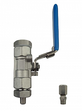Installation kit pipe, stainless steel, R1/8''m - CF6/4