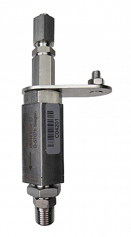 Detonation Flame Arre. F501, stainl.st., R1/4'm - FU6/4