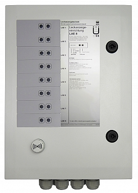 Leak indicating unit LAE-8, 100-240VAC/24VDC, IP30