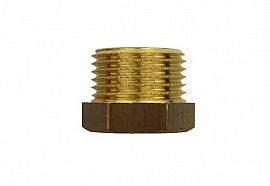 Reduction Fitting G3/8'-G1/8' G3/8'male-G1/8'female, Brass