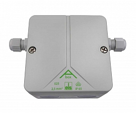 Conduit box, weather-protected, single for extension or sensor cable LS 50