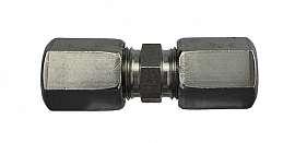 Straight Union KV 6 - KV 8 mm stainless steel 1.4571 or similar