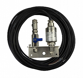 Inst. kit VLX-S w. sensor, 20m cable, holder, valve, ss-QU8/6