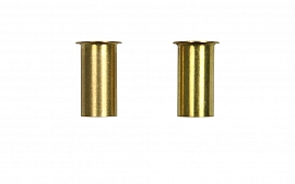 Support Sleeve for Tubes 8/6 x 1 Brass
