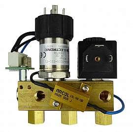 Manifold DLR-G with sensor 20 bar without PRV, 24 V DC, solenoid valve