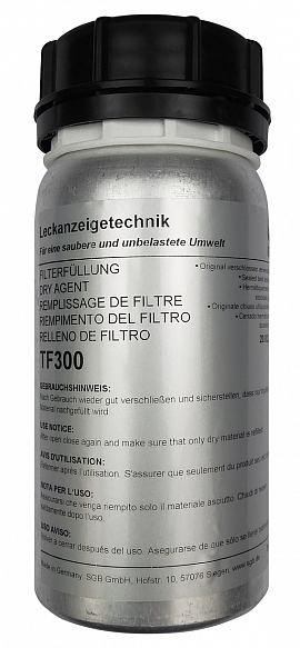Dry filter agent, TF300 (300 grams)