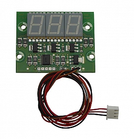 Pressure Display for Electronical Leak Detector, VL, VLR, DL, DLG, DLR-G, DLR-P