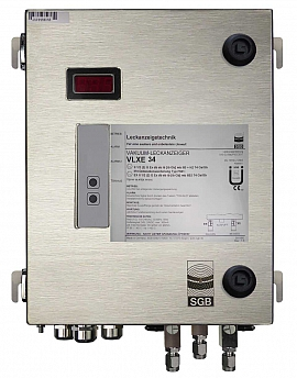 Leak Detector VLXE 34 Ex M, ss-v, 100-240VAC|24VDC, ss-box, ss-CF8/6