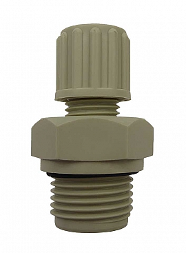 Straight Union 8/6-G1/8'male Polypropylene