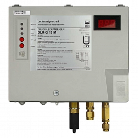 Leak Detector DLR-G 15 M, 100-240VAC|24VDC, pl-box, CF8/6