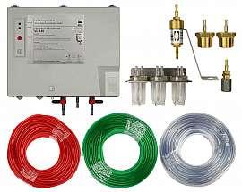 VL 330 (above ground) complete set, kt, inst.kit,20m PVC-hose10/6x2mm each color