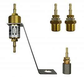 Inst. kit VL 34-570, R1/2'm - H4+H6, PVC-hose 8/4x2mm or 10/6x2mm
