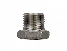Reduction Fitting R3/8' - G1/4' stainless steel 1.4571 or similar