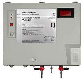 Leak detector VL 230 M, 100-240VAC|24VDC, pl-box, H4+H6