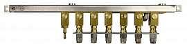 Manifold 6 pipes, stackable, pump unit VIMS