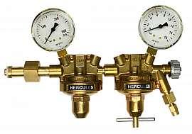 Pressure Regulator, 2-stage, 6bar, CF6/4 Inlet 200bar, Deliv. 6bar, W24,32x1/14'