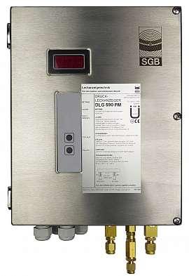 Leak Detector DLG 590 PM, 100-240VAC, ss-box, CF8/6