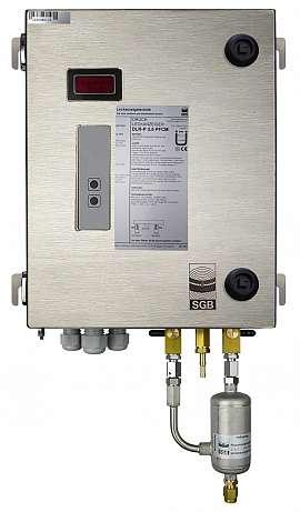 Leak Detector DLR-P 3.5 FCM, pul-d, 100-240VAC|24VDC, ss-box, CF8/6