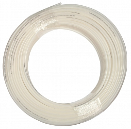 PA-hose, milky white, 8/6x1mm, 100m roll Pmax at 60°C = 12 bar