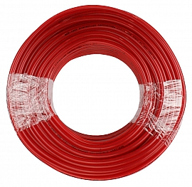 PVC-hose, red, 8/4x2mm, 100m roll