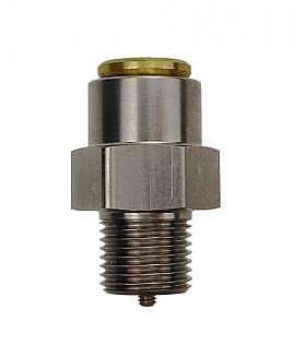 Overpressure Valve, Brass, FPM, G1/8' 565 ± 10 / >525 mbar (DL 400, 450)