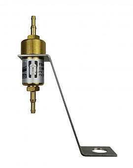 Liquid stop valve FSMS 1, H4+H6, dome plate holder