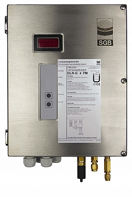 Leak Detector DLR-G 4 PM, 100-240VAC|24VDC, ss-box, CF 8/6