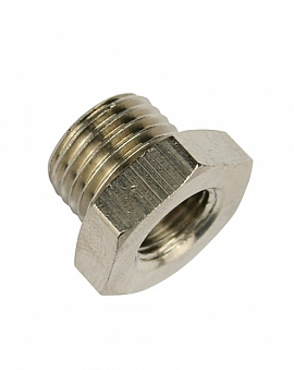 Reduction Fitting G1/4' - G1/8' G1/4'male-G1/8'female, Brass
