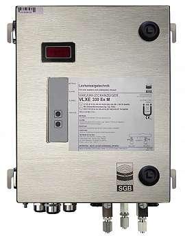 Leak Detector VLXE 330 Ex M, IIC, ss-v, 100-240VAC|24VDC, ss-box, ss-CF8/6