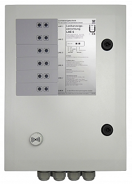 Leak indicating unit LAE-6, 100-240VAC/24VDC, IP30
