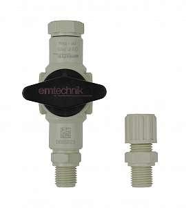Installation kit pipe, polypropylene, G1/4'm - PP8/6
