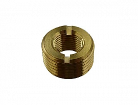 Reduction Fitting G3/8' - G1/8', Brass G3/8'male-G1/8'female,w.o.Flange/Hexagon