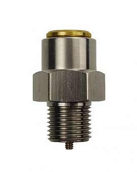 Overpressure Valve, Brass, FPM, G1/8', 360 ± 10 / >320 mbar (DL280)