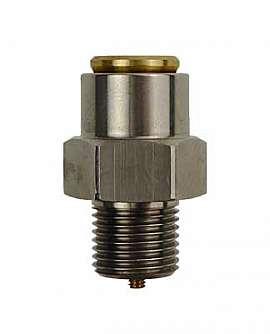 Overpressure Valve, Brass, NBR, G1/8' 465 mbar Open. Pressure (DL 330)
