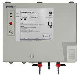 Leak detector VL 34, 230VAC, pl-box, H4+H6