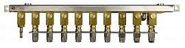 Manifold 9 pipes, stackable, pump unit VIMS