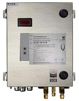 Leak Detector VLXE 330 Ex M, 100-240VAC 24VDC, ss-box, CF8/6