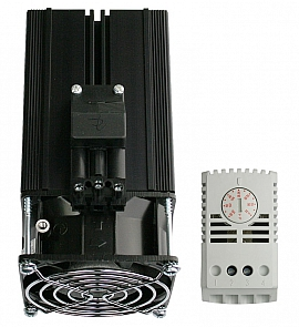 Heater 250 Watt with radiator+Thermostat for Protective Box KS 1469 and larger