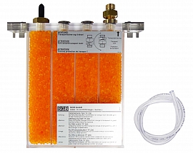 Dry filter TF200, hose connection, dry filter agent, wall holder