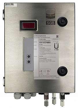 Leak Detector VLR 410 PMMV, ss-v, 100-240VAC|24VDC, ss-box, ss-FU6/4