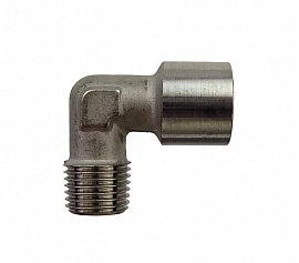 Elbow Fitting G 1/4' Female -R 1/4' Male Stainless Steel, 1.4404